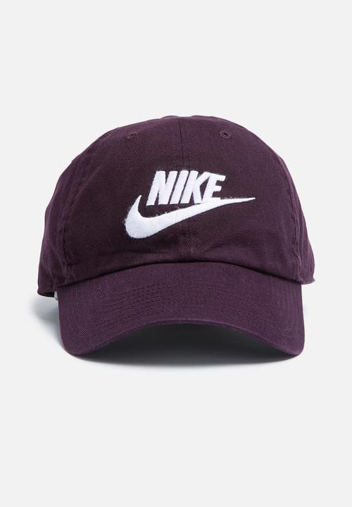 Futura washed cap-burgundy Nike Headwear  b840310da9a