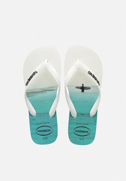 0039013c80c3ab Hype - White White Black Havaianas Sandals   Flip Flops ...