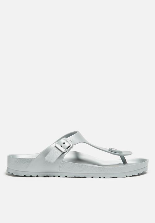 364b28aaa GIZEH EVA - METALLIC SILVER Birkenstock Sandals   Flip Flops ...