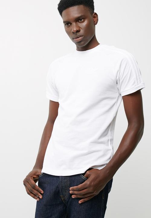 1f27df356e9 CLFN Triple tee- WHITE adidas Originals T-Shirts