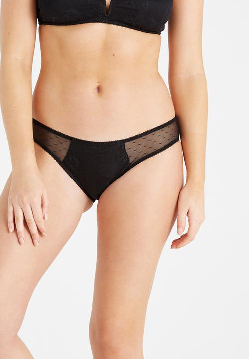 Cotton On Vivienne Bikini Panties Black