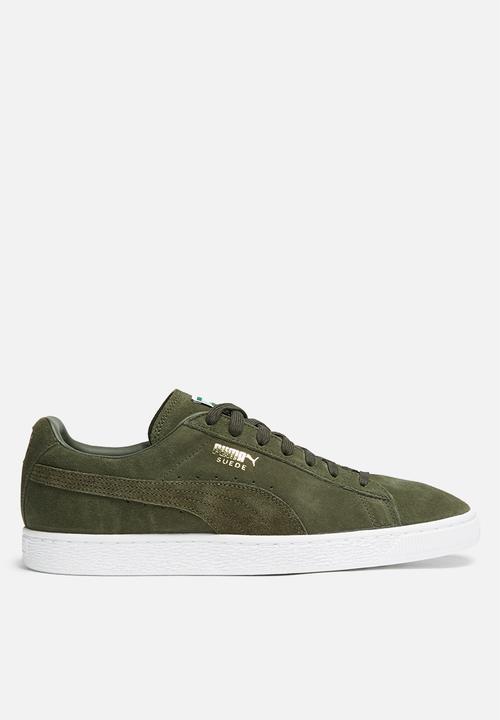 15b6b3dbfd84b Puma Suede Classic - 35656865 - Olive PUMA Sneakers