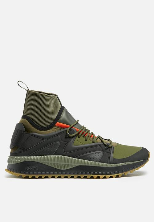 2aa870083f80 Puma Tsugi Kori - 36374703 - Olive Black PUMA Sneakers