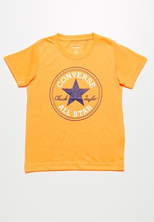 9381dce7 Chuck patch tee - laser orange Converse Tops | Superbalist.com