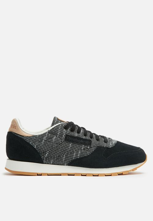a7bd49dc99b33 Reebok Classic Leather EBK - BS6236 - Black   Stark Grey   Gum ...