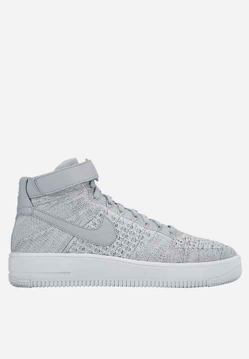 18460ab75 Nike AF1 Ultra Flyknit Mid - 817420-003 - Wolf Grey Nike Sneakers ...
