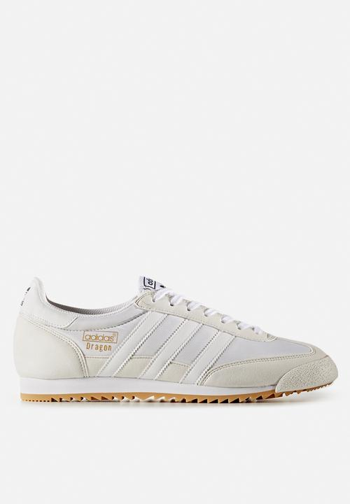 adidas dragon wit zwart