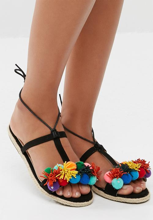 c67dd2496 Sibulele - black dailyfriday Sandals   Flip Flops