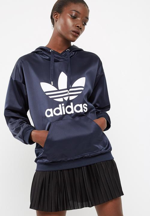 adidas trefoil hooded jacket