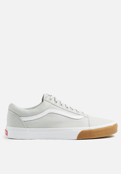a99f7e9a6f48df Old Skool - (Gum Bumper) glacier gray true white Vans Sneakers ...