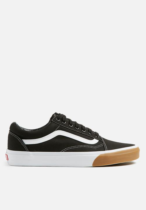 c575a33ccece Old Skool - (Gum Bumper) black true white Vans Sneakers ...