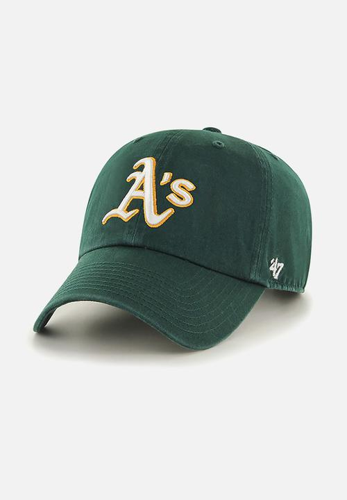 6744904e685 47 Clean Up adjustable MLB - Oakland A s - Dark Green   Yellow 47 ...