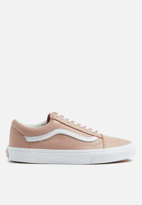 809b40c08aa7 Old Skool DX - (Tumble Leather) mahogany rose true white Vans ...