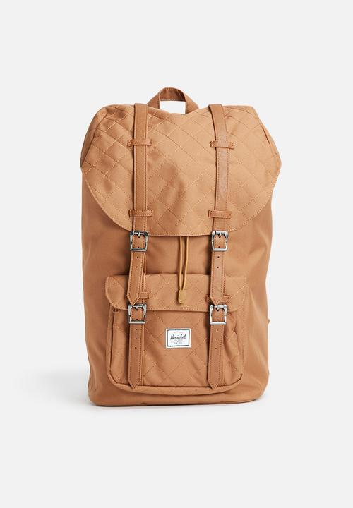 aa4f746616b Little america quilted backpack-caramel Herschel Supply Co. Bags ...