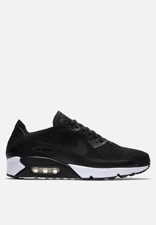 6ff2f74ff3 Nike Air Max 90 Ultra 2.0 Flyknit - 875943-004 - Black / White Nike ...