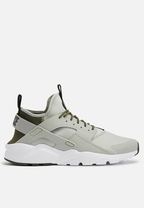 087a2f63bc0a3 Nike Air Huarache Run Ultra - 819685-009 - Pale Grey   Cargo Khaki ...