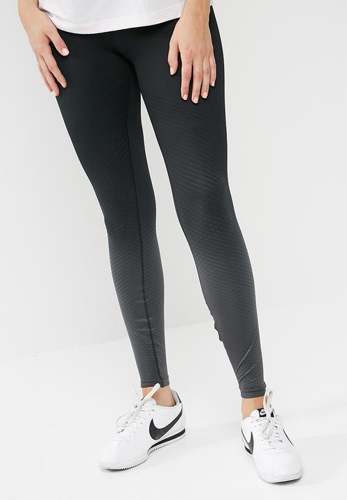 2ae15693c63e2 Zonal strength printed tights - Black performance Nike Bottoms ...