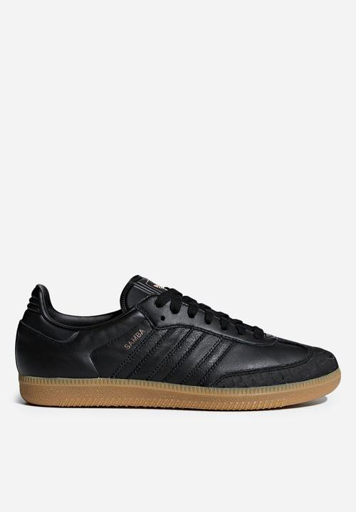 396f98f62 Samba W - Core Black/Core Black/Gum4 adidas Originals Sneakers ...