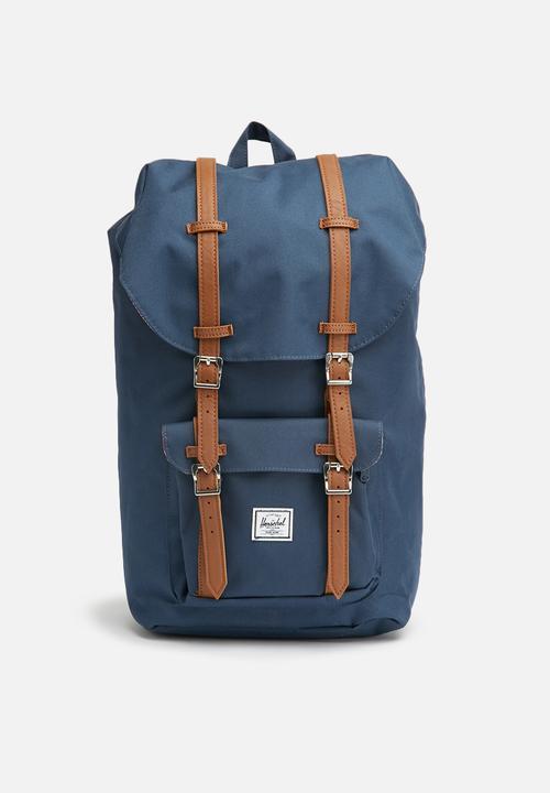 fe8df610c684 Little america backpack-navy tan Herschel Supply Co. Bags   Wallets ...