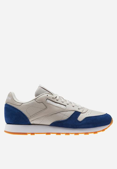 539b186a1d4 Reebok CL Leather GI - BS9745 - Sand Stone   Washed Blue White - Gum ...