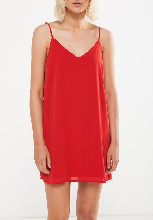 77ad75feec98ef Woven margot slip dress - Cherry red Cotton On Casual | Superbalist.com