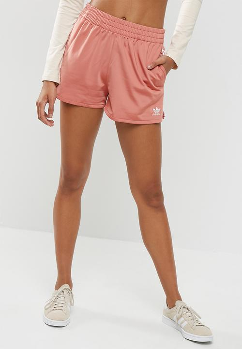 e8cb2663d1a2b 3 stripes shorts - ash pink adidas Originals Bottoms