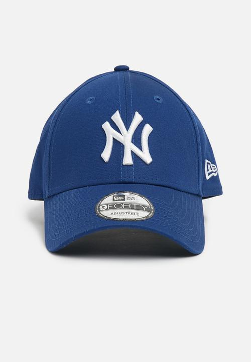 ed8751573fe 9Forty NY Yankees- royal   optic white New Era Headwear ...
