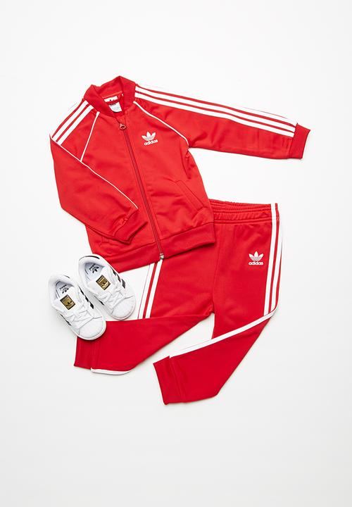 71e531b79cdf SST tracksuit - Scarlet adidas Originals Jackets   Knitwear ...