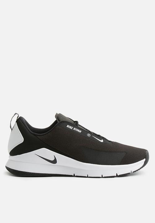 NIKE W Nike Rivah AH6774-004 BLACK/BLACK-WHITE Womens Size 5.5