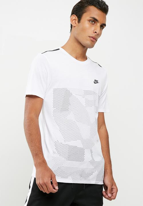 0799bee6 M NSW tee tb tech 2 white/black Nike T-Shirts | Superbalist.com