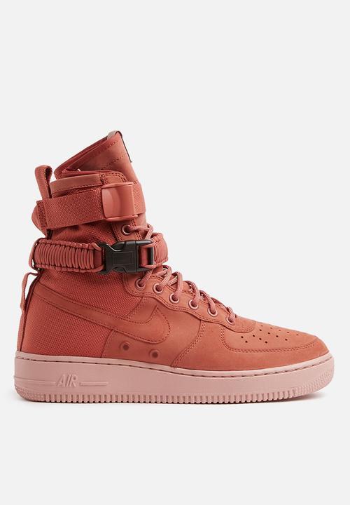 cd203b663cca Nike W SF Air Force 1 - 857872-202 - Dusty Peach Nike Sneakers ...
