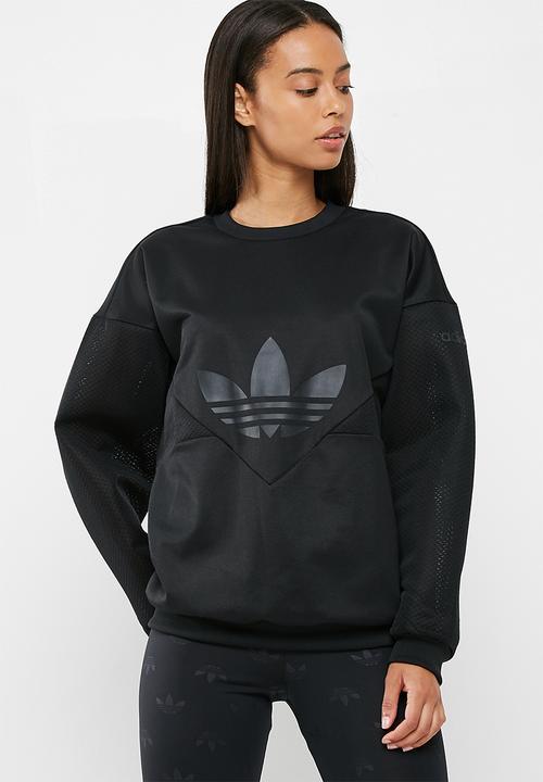 486a12ac5af0 Clrdo sweatshirt - black adidas Originals Hoodies
