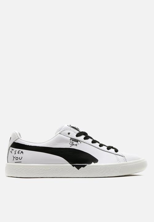 37a674a8e1d PUMA X SHANTELL MARTIN Clyde - 365894 01 - Puma White-Puma Black ...