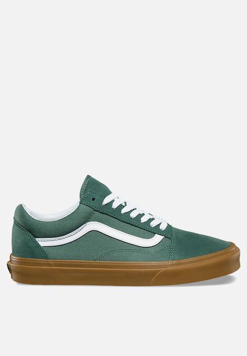 Vans Old Skool-duck green gum Vans Sneakers  63d2961d3