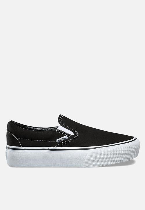 a7eaabf150d Vans Classic Slip-on platform - black white Vans Sneakers ...