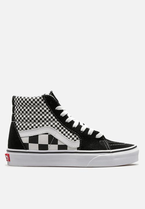6c6ac873df01 Vans SK8-Hi-mix checker-black white Vans On Sale