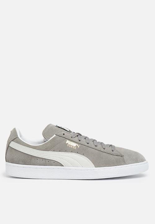 f2c41f24774 Suede Classic - Steeple gray - white PUMA Sneakers