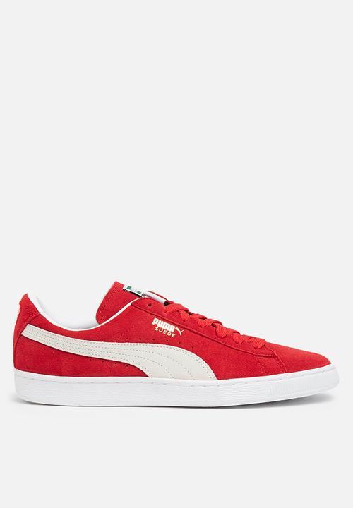 68e6509f6a Suede Classic - High Risk Red-Puma White PUMA Sneakers