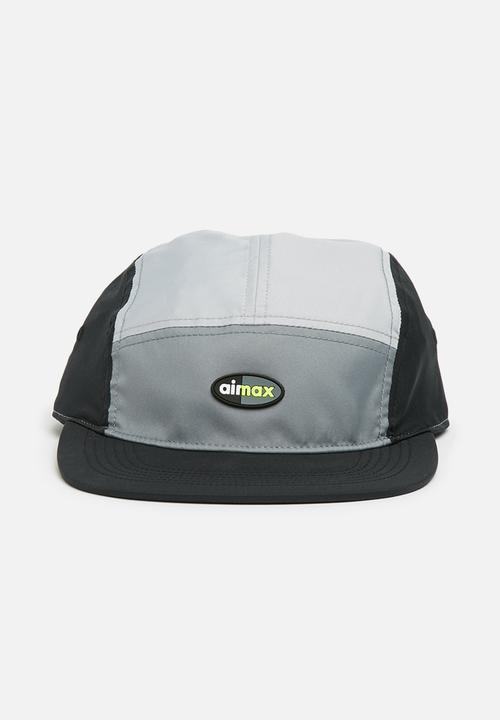 e02cd4500adb2 Nike Air Max AW84 Cap - Cool Grey Wolf Grey Black Nike Headwear ...