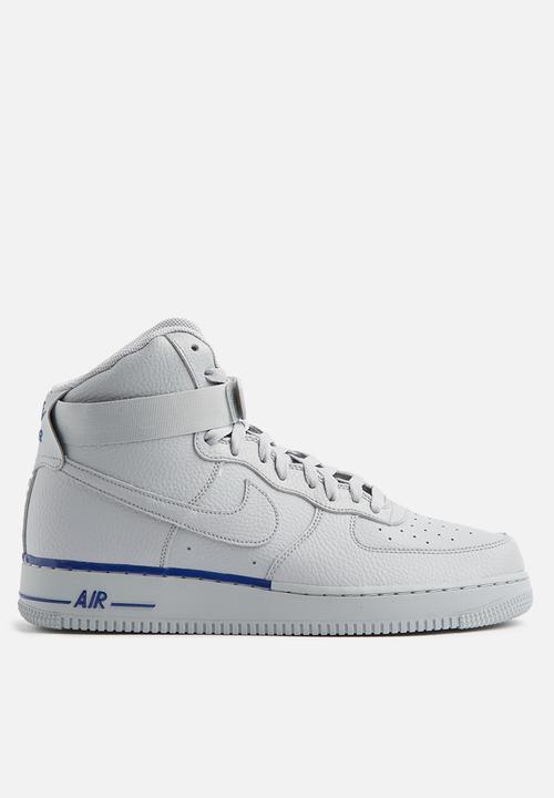 5392301a3d0198 Nike Air Force 1 High  07 - 315121-045 - White   Deep Royal Nike ...