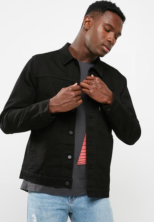 2462e4489f9 L8 trucker jacket- Classic Black Levi s® Jackets
