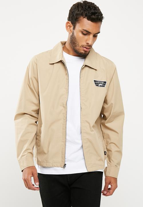 8a2616271f Torrey jacket- tan Vans Jackets