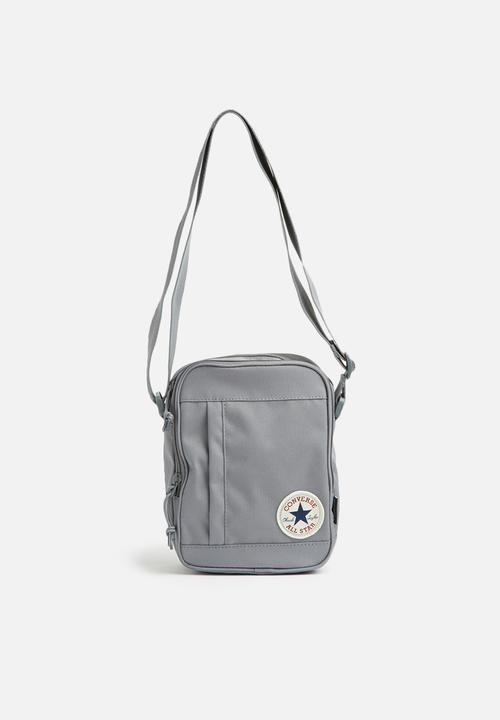a6f7fc2944aa Poly Cross Body - Cool Grey Converse Bags   Wallets