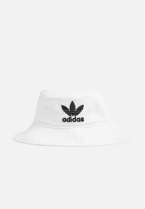 3269bc0dc4b Trefoil bucket hat - white adidas Originals Headwear