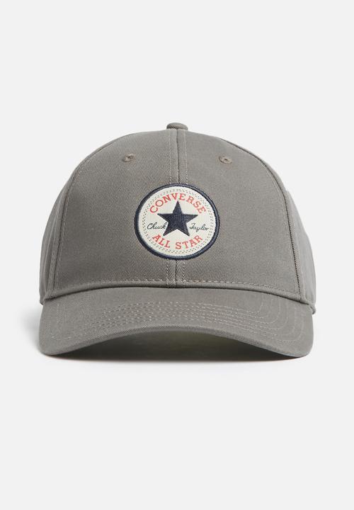 Core cap - CON301 - Charcoal Converse Headwear  e2746126244a