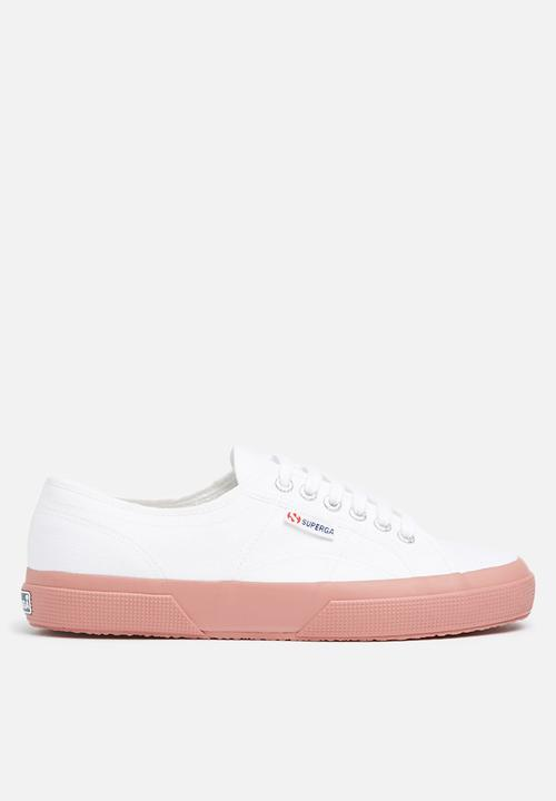 99e07e3cfaf 2750 Cotu classic canvas - White   dusty rose SUPERGA Sneakers ...