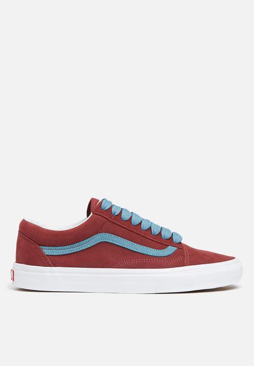 01d03a65bb06 Vans Old Skool (oversized lace)-cabernet adriatic blue Vans Sneakers ...