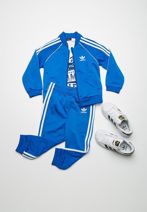 959aeaa82eea SST tracksuit - Blue adidas Originals Jackets   Knitwear ...