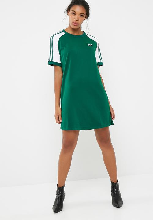 af62536d684 Raglan tee dress - Collegiate Green adidas Originals T-Shirts ...