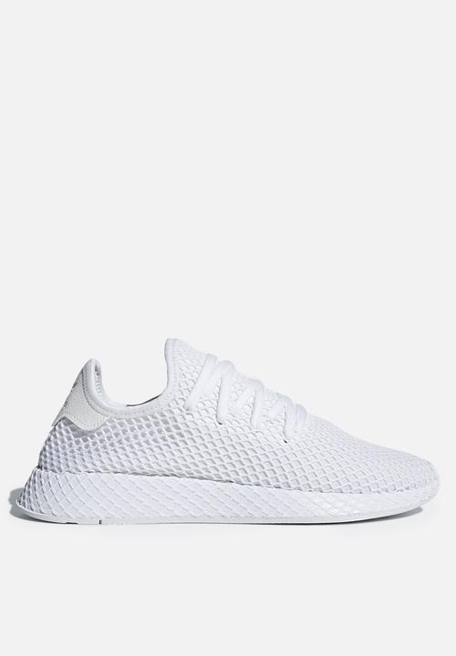 a8a8607e768be adidas Originals Deerupt Runner - CQ2625 - Triple White adidas ...